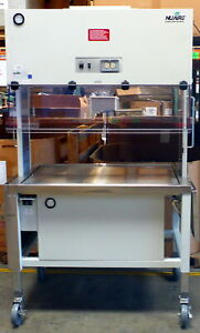 Nuaire Laminar Flow Animal Cage Transfer Station Nu 612 Nu 612 400