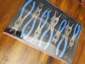 New Snap On Srpcr107pb Pearl Blue Snap Ring Plier Set Free Expedited