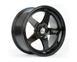 Cosmis Racing Xt 005r 18x10 20mm 5x114 3 Black Rim Wheel