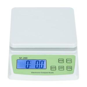 Digital Lcd Postal Shipping Electronic Scale Weight Postage 10kg 0 5g W Battery