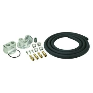 Derale Performance 15725 Engine Oil Filter Relocation Kit