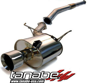 Tanabe Medalion Touring Cat Back Exhaust System For 2003 06 Mitsubishi Evo 8 9