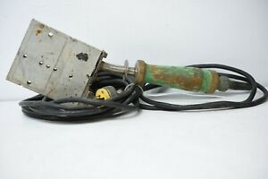 Mcelroy Pipe Fusion Iron Plate Heater 800w 120v Used Ref 0006