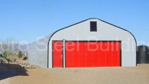 Durospan Steel 25x70x13 Metal Building Home Garage Kits Open Ends Factory Direct