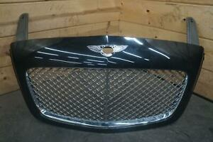 Front Radiator Grille Panel Black Bentley Continental Flying Spur 2006 Note