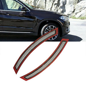 For 2014 2017 Bmw F15 F85 X5 Clear Lens Front Side Marker Reflector Bumper Cover