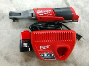 Milwaukee M12 Fuel 3 8 Ratchet W Battery Charger Model 2557 20