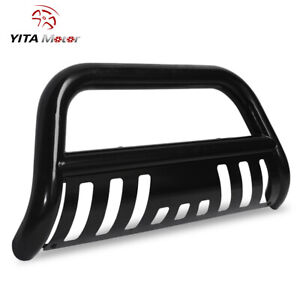 For 05 15 Toyota Tacoma Bull Bar Brush Push Front Bumper Grille Guard skid Plate