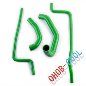 For 1997 2001 Jeep Wrangler Tj 4 0l Green Silicone Radiator Hose 1998 1999 2000