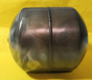 Vintage Industrial Machine Age Stainless Steel Weighted Float Steampunk Art