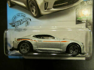 Hot Wheels 2020 Factory Sealed Set Dream Garage 20 18 Copo Camaro Ss Silver