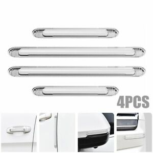 4x Clear Car Door Edge Scratch Anti collision Protector Guard Strip Accessories