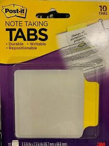 Post It Note Taking Tabs 10 Tabs