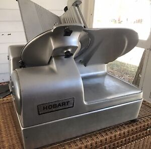 Hobart 1712 Automatic Commercial Meat Slicer Deli Restaurant Cater 12in Blade