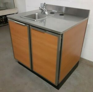 Duke Modular Stainless Steel Cabinet With Hand Sink nsw 021