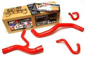 Hps Red Silicone Radiator And Heater Hose Kit For Ford 96 01 Mustang Gt 4 6l V8