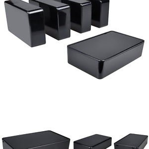 Pinfox 5 Pack Electronic Prototype Abs Plastic Junction Project Box Enclosure