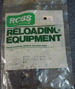 RCBS 4X4 Auto Shell Plate Assembly #30 87630 NOS In package $88.99