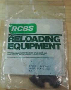 RCBS 4X4 Auto Shell Plate Assembly #02 87602 NOS $88.99