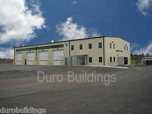 Durobeam Steel 32 x125x18 Metal Prefab Clear Span Building Made To Order Direct