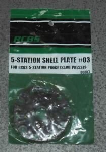 RCBS 5 Station Shell Plate #03 88803 NOS In Package $64.99