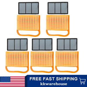 Pack Of 5 Air Filter Set Fit For Stihl Ts410 Ts420 Cut off Saws 4238 140 1800 Us