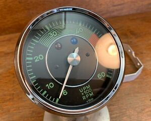 Restored Tachometer For Porsche 356 A Vdo