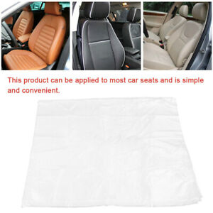 Disposable Plastic Car For Seat Covers Vehicle Protectors Mechanic Valet Roll