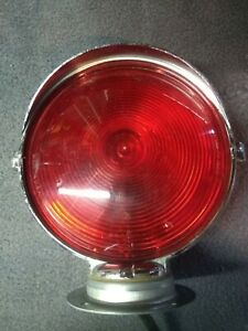 Vintage Dietz 7 50 Emergency Firetruck 7 1 4 D Stop Light Chrome