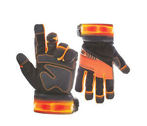 Safety Gloves With Light Modes Size 2x