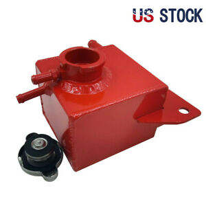 Aluminum Coolant Overflow Tank For 2002 2007 Subaru Impreza Wrx Sti 04 2015 Red
