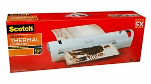 Scotch Advanced Thermal Laminator Extra Wide 13 inch Input 13 In Value Pack