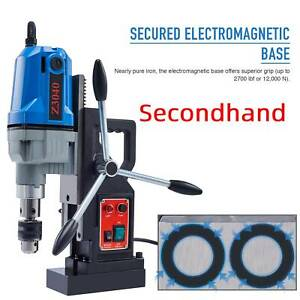 Secondhand 1100w 1 5hp Electric Magnetic Drill Press Bores Up 2 Depth Mag Drill