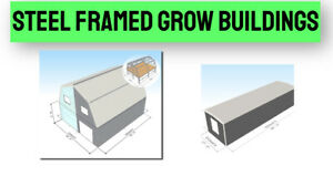 U s Made Steel Shipping Container Alternative To Grow Box With Engineered Floor