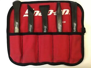 Snap On 5 Piece Non marring Hard Plastic Prybar Set W pouch pkn500 free Ship