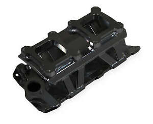 Sniper Sheet Metal Fabricated Intake Manifold Sbc Dual Quad Black