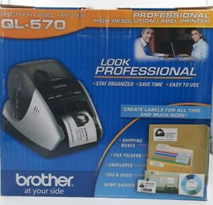 Brother Ql 570 Professional High Res Thermal Label Printer