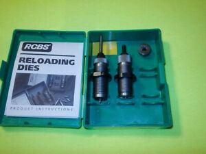 RCBS Reloading Die Set in .22 HORNET w RCBS #12 shell holder $51.00