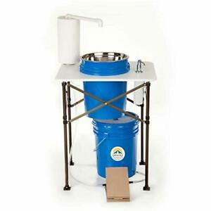 Deluxe Camp Sink Portable Handwashing Station