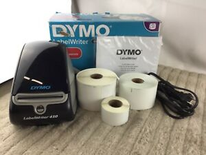 Dymo Labelwriter 450 Printer With 4 Label Rolls 1750110 Used
