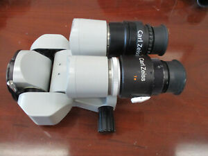 Zeiss Opmi Surgical Microscope 0 180 Binocular F 170 10x 22b View Pictures