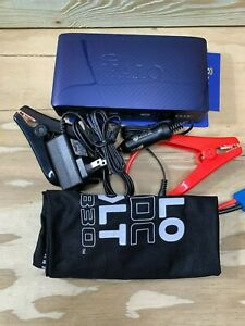 Halo Acdc Bolt 58830 Blue Portable Car Jump Starter Device Charger