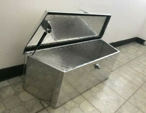 35 Aluminum Trailer Tongue Tool Box Underbed Storage 35 l X 12 h X 12 d