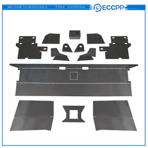 Eccpp For 1984 01 Jeep Cherokee Rear Back Bumper Bare Kit Winch Mount Plate