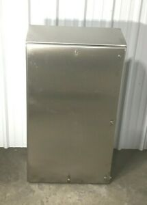 New Hoffman Ws603612ss Stainless Steel Nvent Enclosure 60x36x12 Watershed