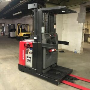 2015 Raymond 520 opc30tt 3000lbs Used Forklift Triple Mast Low Hours A Battery