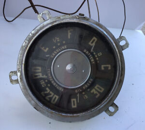 Vintage Temperature Gauge For 1953 Chevy Truck