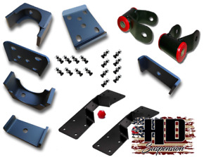 Hd Suspension 5 Lowering Drop Flip Kit With C notch 1988 1998 Chevy Gmc C1500