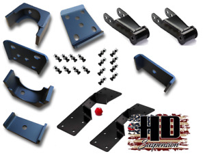 Hd Suspension 7 Lowering Drop Flip Kit With C notch 1988 1998 Chevy Gmc C1500