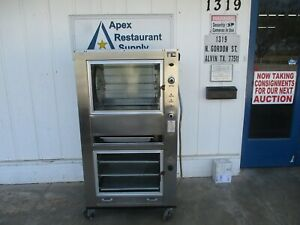 Rotisserie Smoker Warmer All In One Texas Barbq Machine Works Great 5635